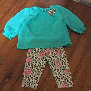 Healthtex 2pc baby outfit